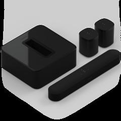 Sonos Beam + SUB (Gen3) + 2 x One