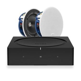 Sonos Amp + 2 x KEF CI130.2CR In-Ceiling Speakers
