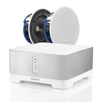 Sonos CONNECT:AMP + 2 x KEF Ci130.2CR