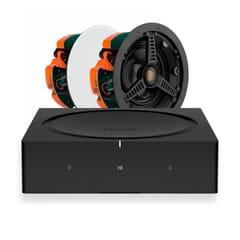 Sonos Amp + 2 x Monitor Audio C165 In-Ceiling Speakers