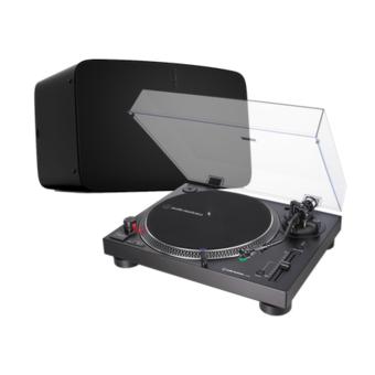 Audio-Technica AT-LP120XUSB (Black) + Sonos Five Turntable Bundle
