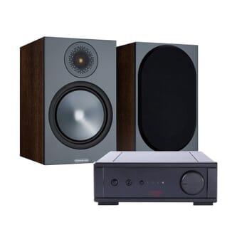 Rega IO + Monitor Audio Bronze 100
