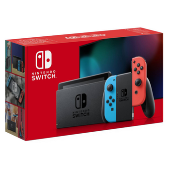 Nintendo Switch Console (Neon Red/Neon blue)