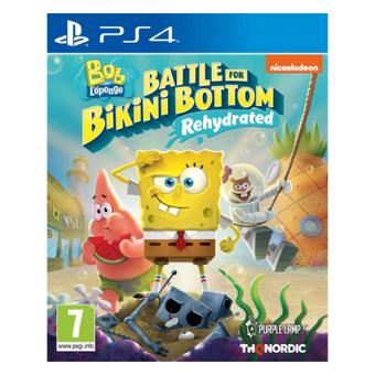 Spongebob Squarepants Battle For Bikini Bottom (PS4)