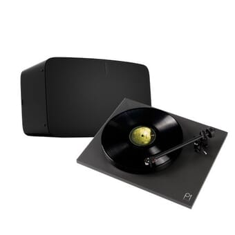 Sonos Five & Rega Planar 1 Plus Turntable Bundle