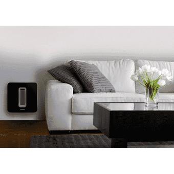Flexson Wall Mount For Sonos SUB - Black (single)