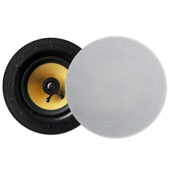"Lithe Audio Bluetooth 6.5"" Ceiling Speaker (PAIR - Master/Slave)"