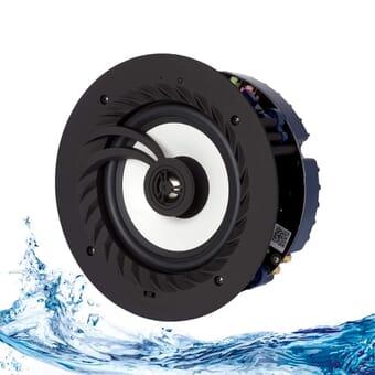 Lithe Audio V2 Bluetooth 5.0 IP44 Bathroom ceiling speaker (Single - Master)