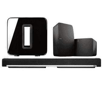 Sonos PLAYBAR + SUB + 2 x PLAY:5