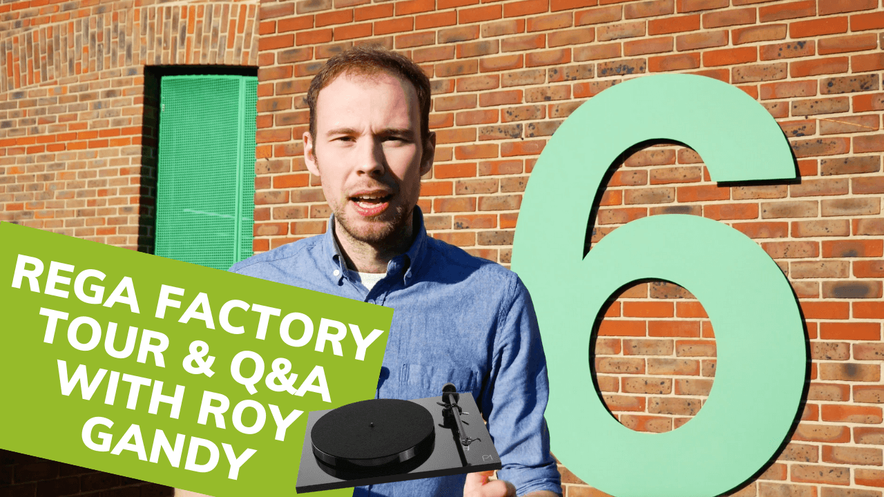 Rega Factory Tour