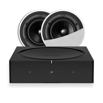 Sonos Amp + 2 x KEF CI160QR In-Ceiling Speakers
