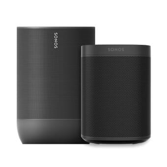 Sonos Move & Sonos One - Indoor + Outdoor Bundle