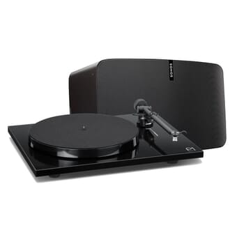 Sonos PLAY:5 & Rega Planar 1 Plus Turntable Bundle