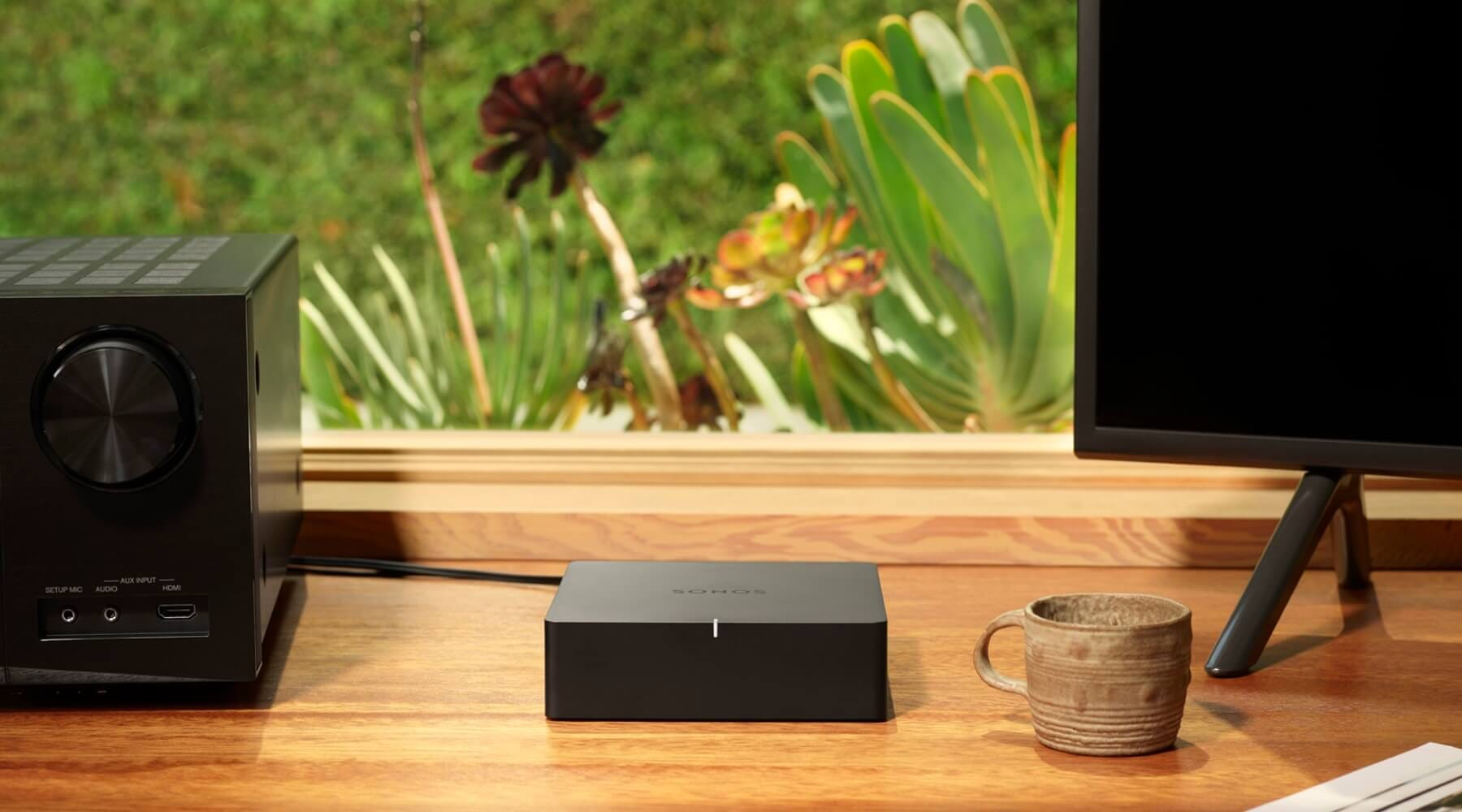 Sonos Port The All-In-One Wireless Music Streamer | Smart Home Sounds