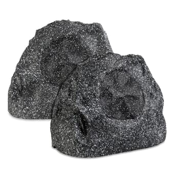 Lithe All-In-One Bluetooth Outdoor Garden Rock Speaker (Pair)