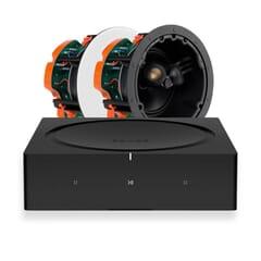 Sonos AMP + 2 x Monitor Audio C265-FX