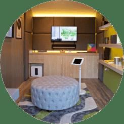 Smart Home Sounds Listening Pod